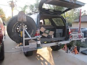 Trail Gear Swing Out Tire Carrier 17 Best Images About Rear Tire Carrier On Diy