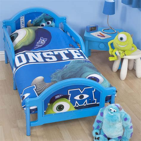 monsters inc bedding monsters inc university junior toddler bed new ebay
