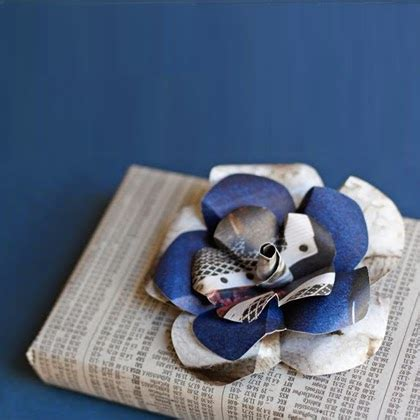 How To Make Recycled Paper Flowers - craft projects how to make recycled paper flowers