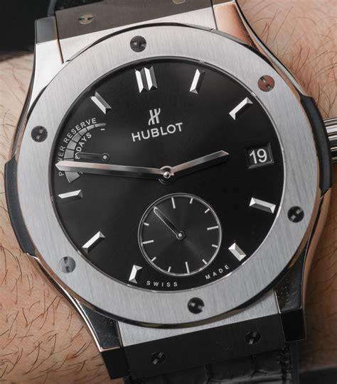 hublot titanium hublot classic fusion power reserve titanium review