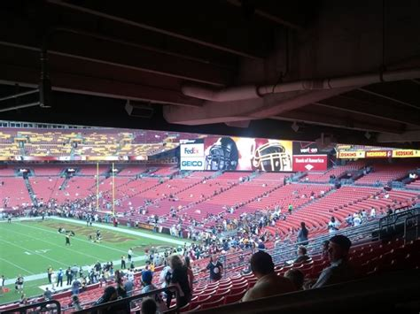 fedex field section 221 fedexfield section 221 rateyourseats com