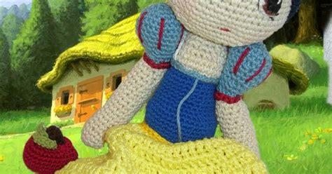 snow white pattern free amigurumi snow white free crochet pattern tutorial