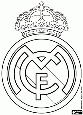 free coloring pages of barcelona badge