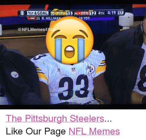 steelers meme pittsburgh steelers memes of 2016 on sizzle san