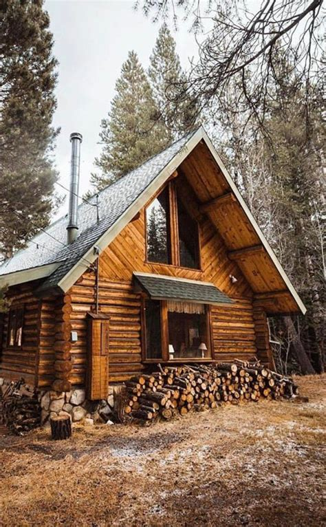simple log cabin simple a frame wish i could stay a while mountain