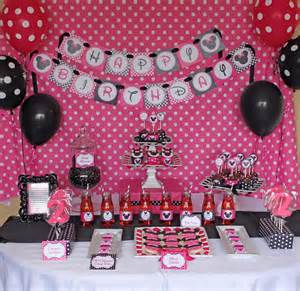 minnie mouse decorations birthday minnie mouse decorations favors ideas