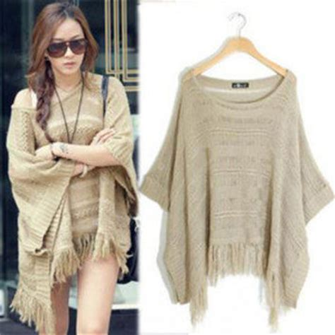 Blouse Style Rumbai s batwing bat sleeve tassels from vobagacow2010 on ebay