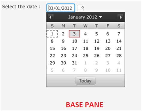 a calendar in java experiments with java calendar in javafx 2 0