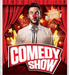 Comedy Show Comedy Show Flyer Template 10 In Vector Eps Psd