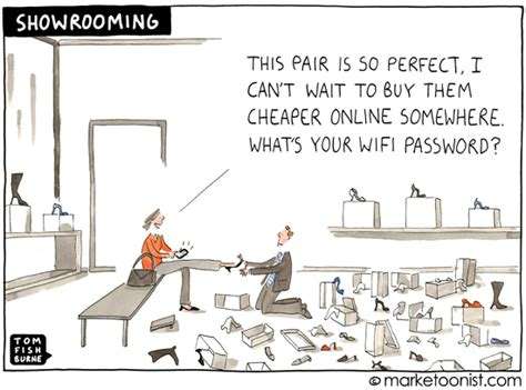 quot showrooming quot tom fishburne marketoonist