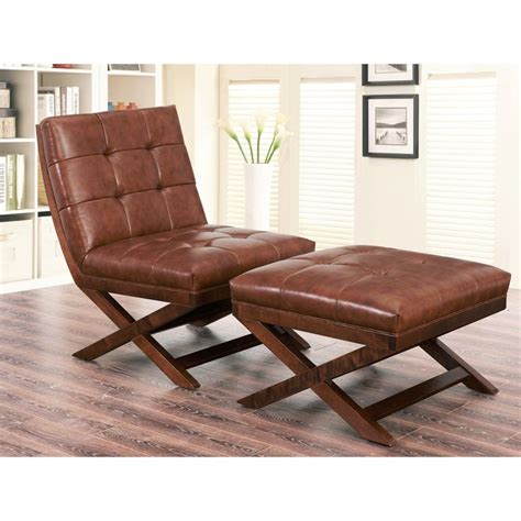 cognac leather chair and ottoman 25 best ideas about chair and ottoman on
