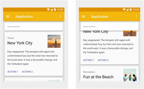 google design guidelines elevation and shadows what is material google design