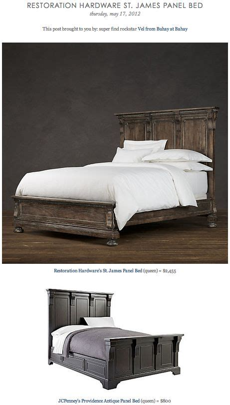 restoration hardware st james bed pinterest the world s catalog of ideas
