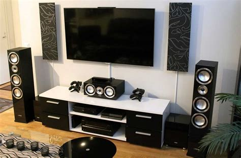 home theater setup       sound