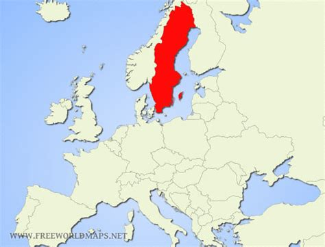 sweden on a world map image gallery sweden location