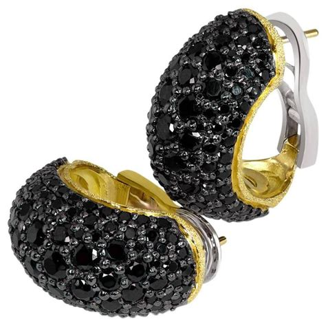 alex soldier spinel textured yellow gold hoop earrings ltd