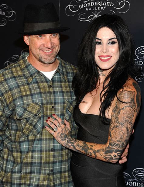 it s love for tattoo artist kat von d who says jesse james