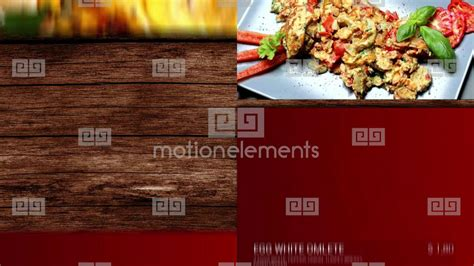 Fast Food Menu Board After Effects Templates 9105204 Food Menu Slideshow After Effects Template Free