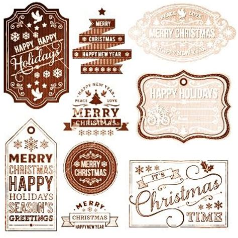 printable rustic christmas gift tags 4 best images of rustic christmas gift tags free