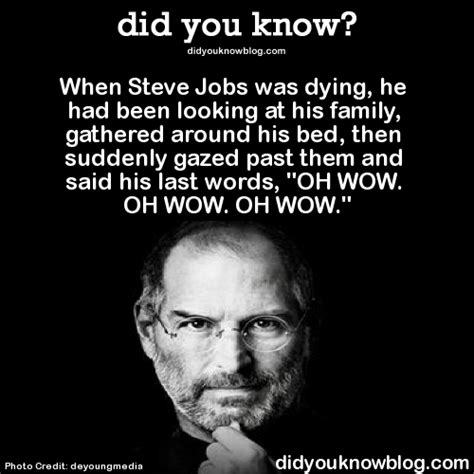 steve jobs death bed condition is cryptical prepare to eject