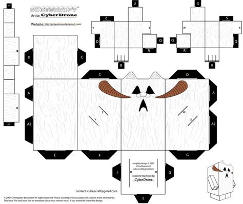 Wars Papercraft Templates - 86 best images about wars cubeecraft on