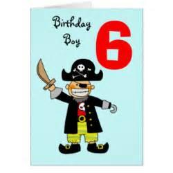 boys 6th birthday cards zazzle