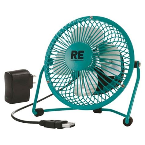 room fans target room essentials personal fan with usb cl adptr target