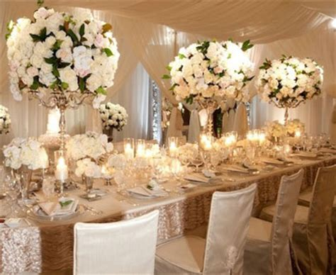 Centerpieces Wedding Flowers by The Wedding Collections White Wedding Flowers Centerpieces