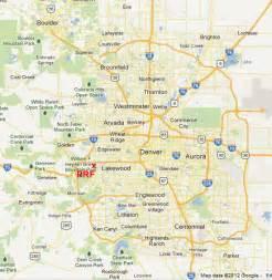 Denver Metro Area Map by Map Books Denver