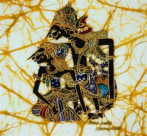 Kebaya Batik Copel Rama Sinta original batik painting on cotton rama and sinta by
