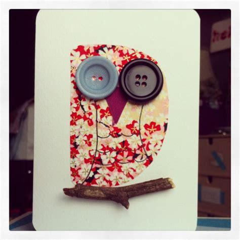 Handmade Owls - owl handmade card by alittleidea owl cards