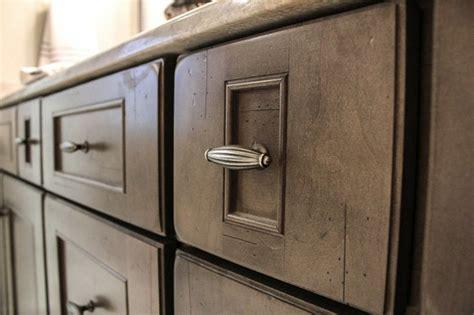 Kitchen Design Pictures Dark Cabinets dark handles on bridgewood cabinets in a stone finish