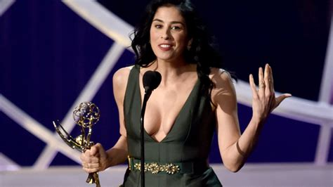 the big reunion teaming up with dj sarah young sophie best sarah silverman cracking up the crowd emmy awards
