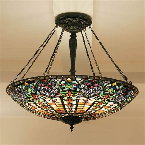 large uplighter ceiling pendant light in