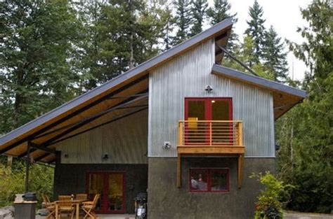 Modern Passive Solar House Plans Industrial Metals And Window On
