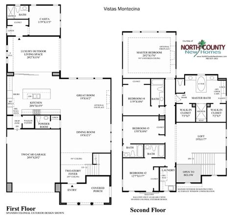 robertson 100 floor plan vistas at robertson ranch floor plans carlsbad new homes