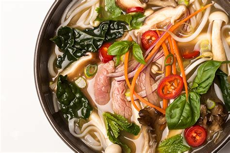 Epicurious Detox Pho by Detox Pho With Beef Mushrooms And Kale Recipe