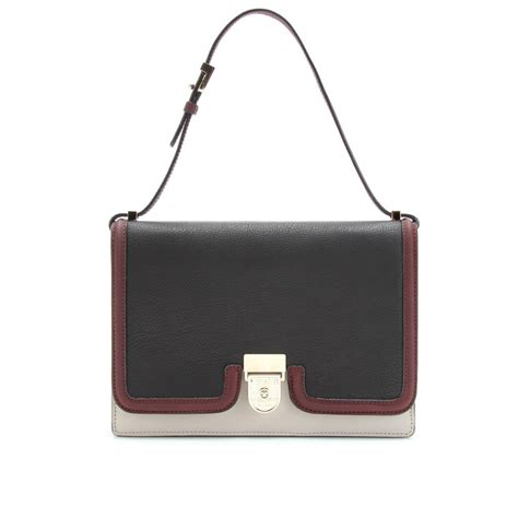 Beckham With Marc Handbag by Beckham Beckham Color Block Leather