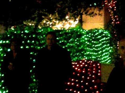 largo botanical gardens christmas lights botanical gardens lights in largo florida dec 2011