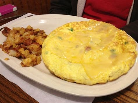 country pancake house menu huge 5 egg frittata with home fries picture of country pancake house and restaurant