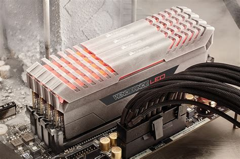 ddr4 ram with led lights corsair unveils vengeance led modules ddr4 gets lighting