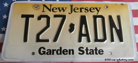 Garden State New Jersey by New Jersey Us Platez