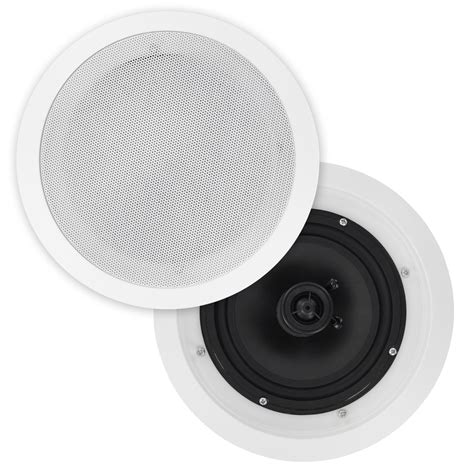 Ceiling Speakers With by 6 5 Quot Poly Cone In Ceiling Speakers Pair Cs607 Selby