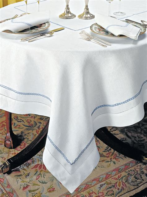 tablecloths table linens sienne scallops luxury table cloths table