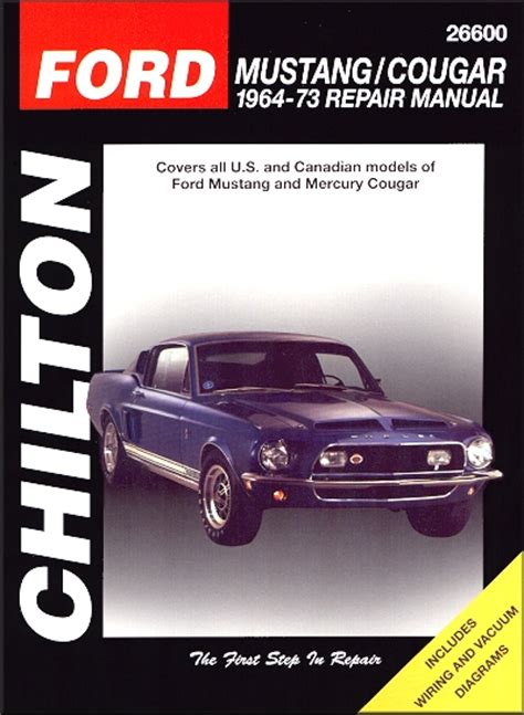 chilton car manuals free download 1997 chevrolet lumina electronic toll collection ford mustang mercury cougar repair manual 1964 1973
