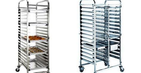 Service Stand Trolley Troli Makanan Ss 022 bakery pan rack stainless aneka trolley stainless
