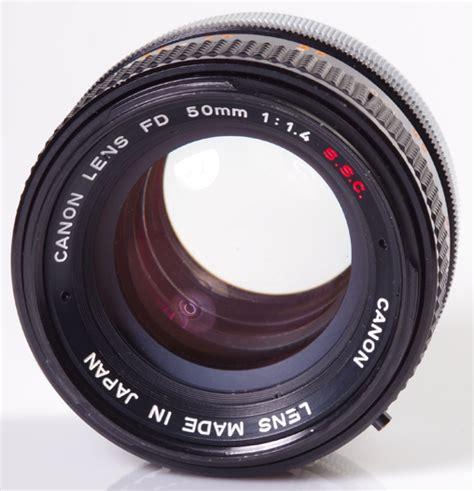 canon 50mm f 1 4 fd manual focus lens version free