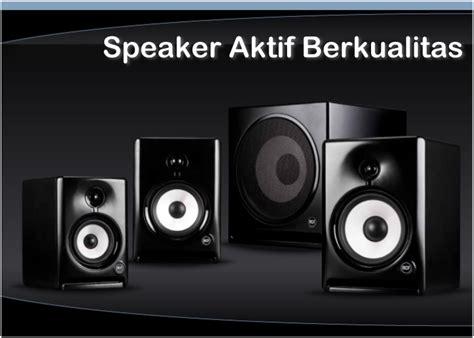 Speaker Aktif Gmc Yang Bagus harga speaker aktif terbaik
