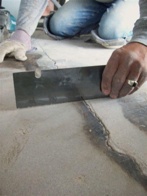 linoleum flooring removal concrete repairman