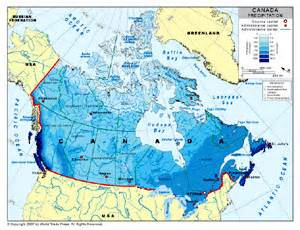 canada rainfall map precipitation map of canada by bestcountryreports